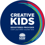 We Are A Creative Kids Provider (click for more information)